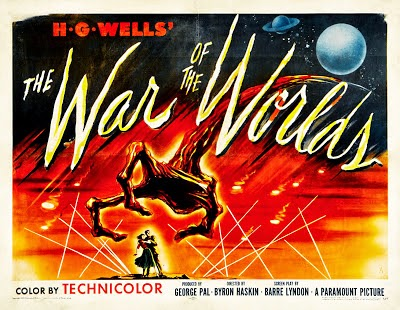 How did Horsell Common get the band name - H.G. Wells - War Of The Worlds film poster (1953)