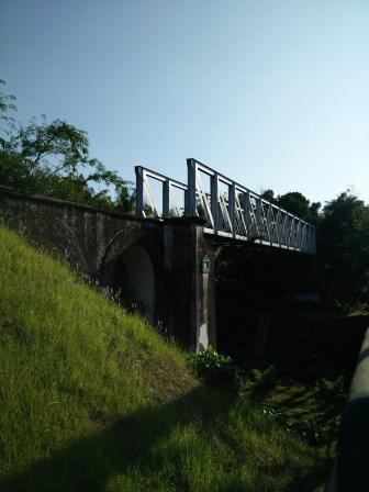 jembatan rel pangukan
