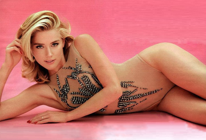 hollywood actress amber heard hot pictures