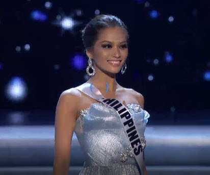 Miss Janine Tugonon must be the winner of Miss Universe December 2012