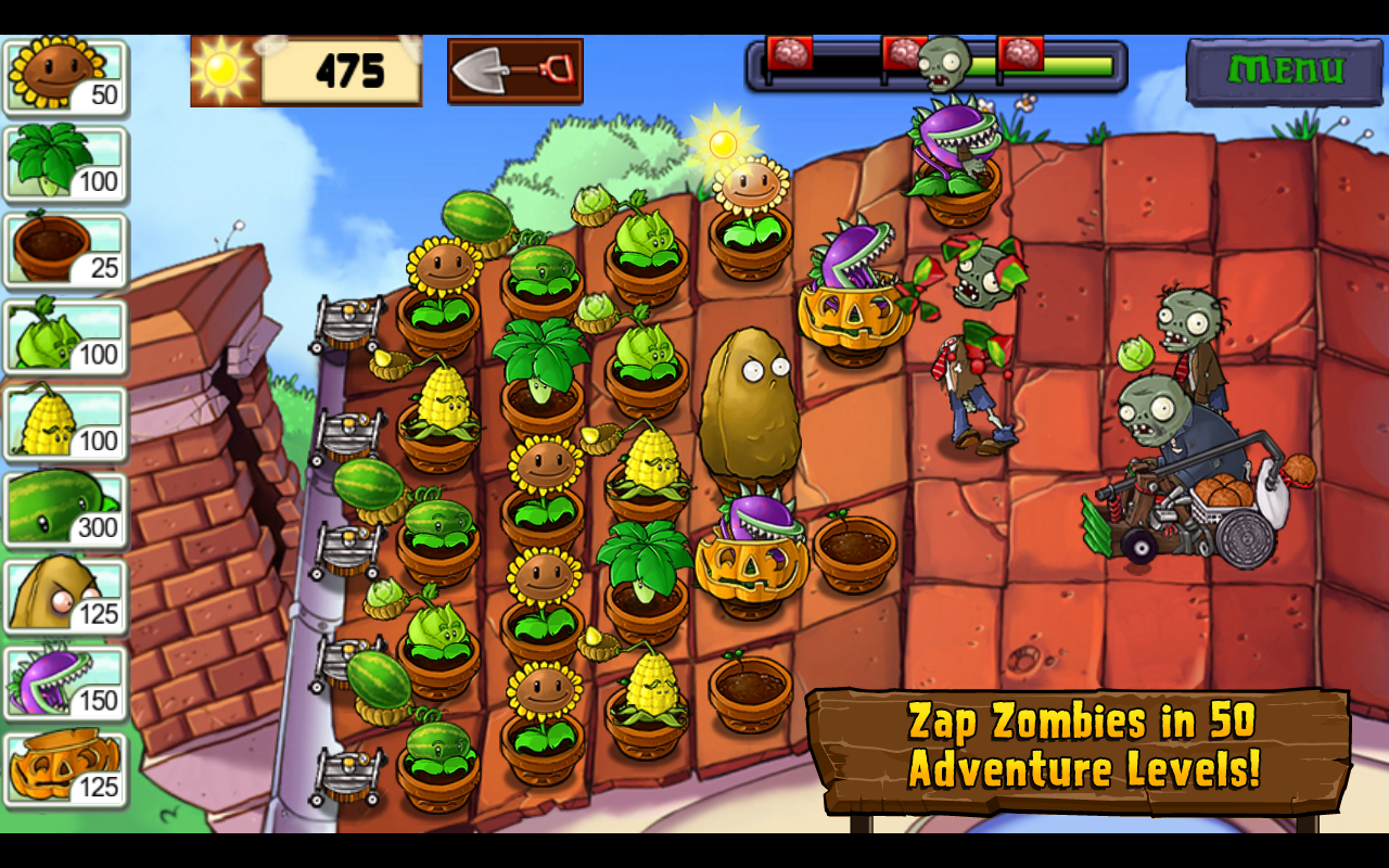Plants vs. Zombies | Download APK For Free (Android Apps)