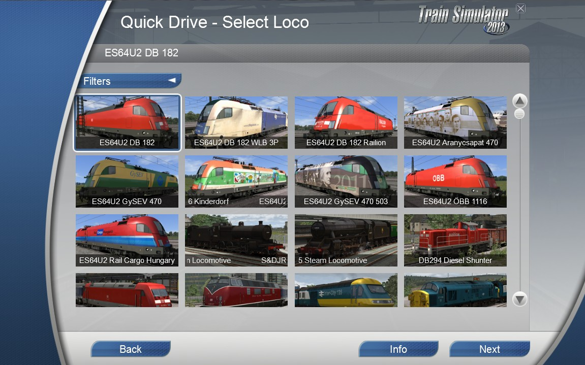 Taurus for Train simulator 2014/2015/2016/2017 Railworks: August 2017