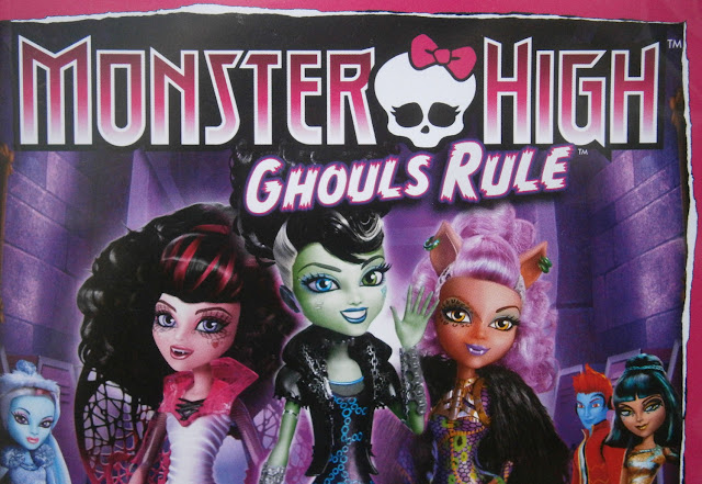 monster high ghouls rule dvd cover design