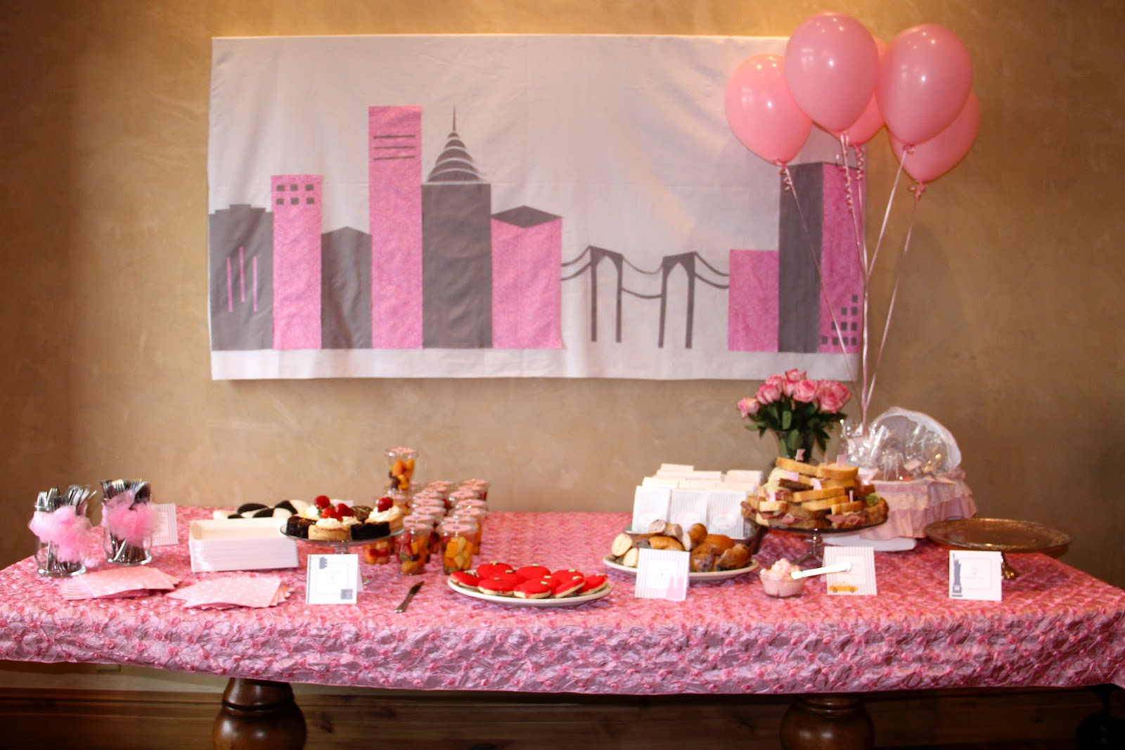 headlines from the holts kimber s nyc theme baby shower in park city