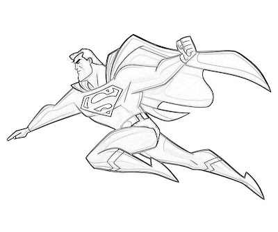 Injustice Superman Coloring Pages