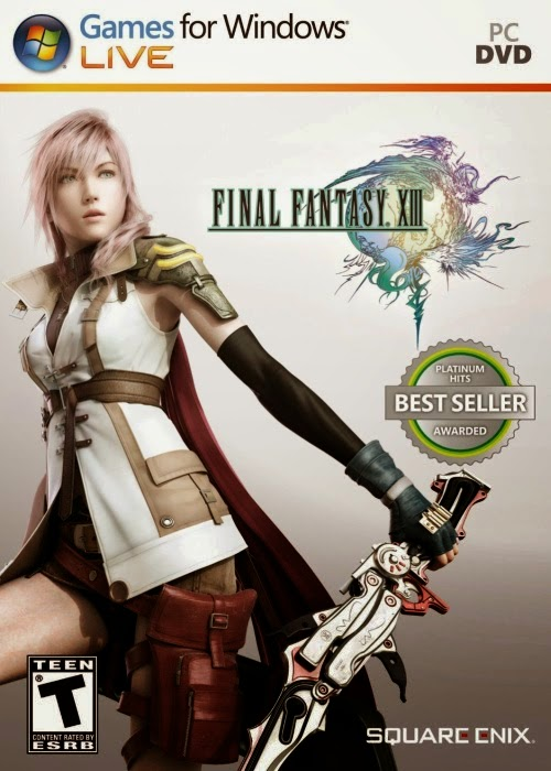 Final Fantasy XIII pc capa