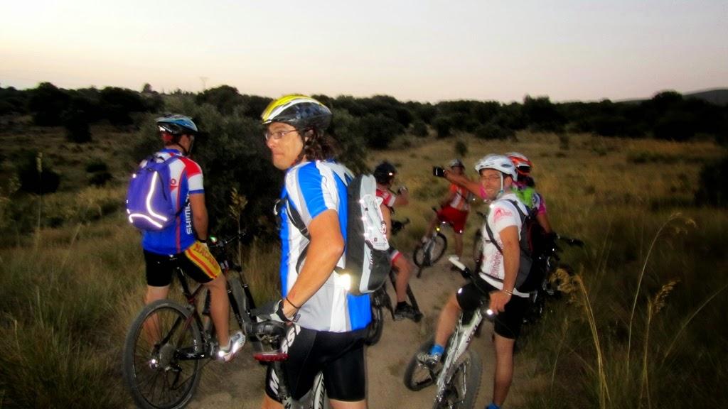 III Ruta MTB Nocturna 2014 Alfonsoyamigos