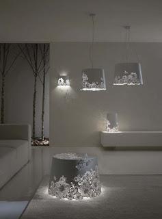 lampes Karman perforée aluminium design