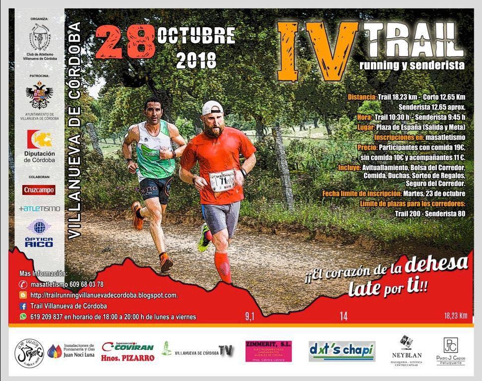 IV Trail de Villanueva de Córdoba