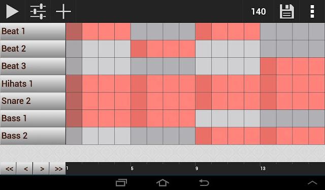 Android Beat Yapma Uygulaması GrooveMixer Apk resimi 4
