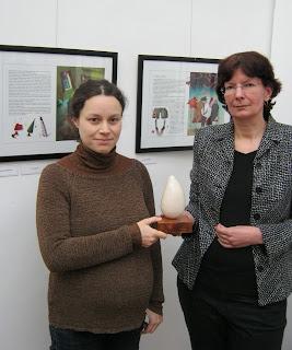 Aranyvackor 2013, illusztrációs pályázat, 3. helyezés, díjkiosztó