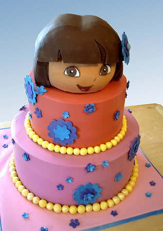 dora chocolate cake uk