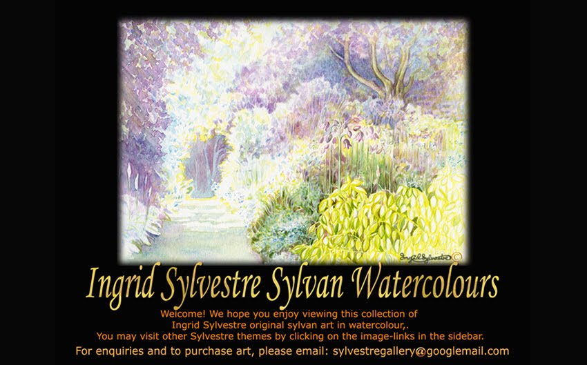Ingrid Sylvestre Sylvan Watercolours