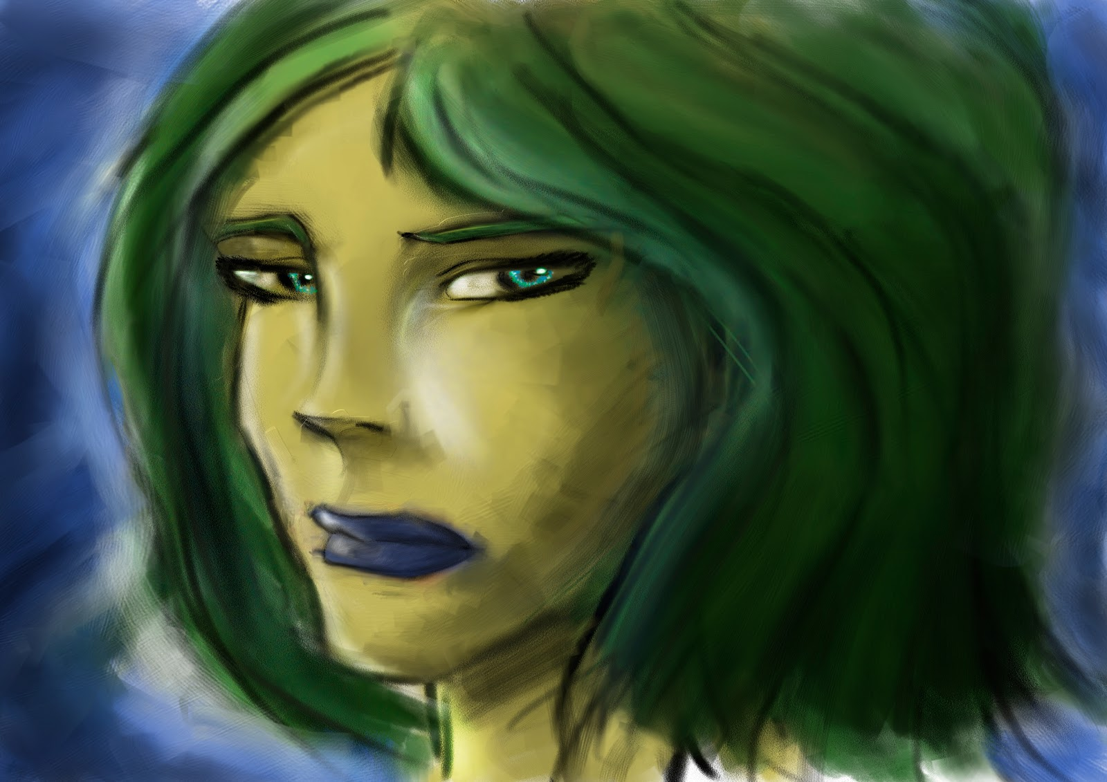 Croquis  / speed painting Facepainting