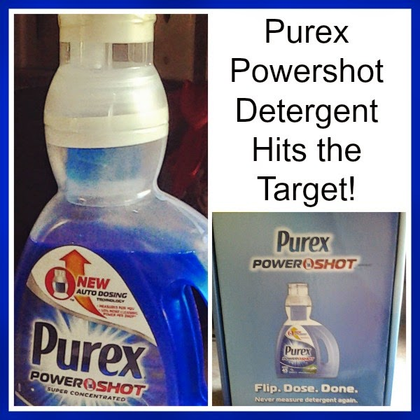 Purex Powershot Detergent Review and Giveaway