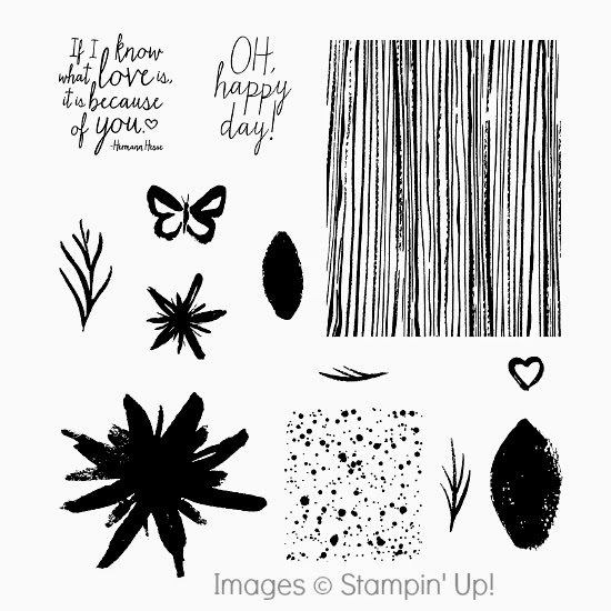 Stampin' Up! Build a Bouquet Photopolymer stamp set images #papercrafts #crafts #stamping #StampinUp
