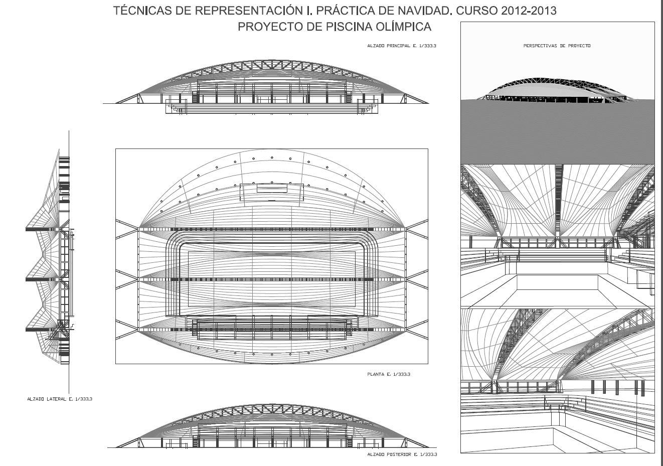 Eines inform tiques ii y eines informatiques i piscina for Diseno grafico de piscina olimpica