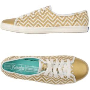 Keds Metallic Golden Sneaker