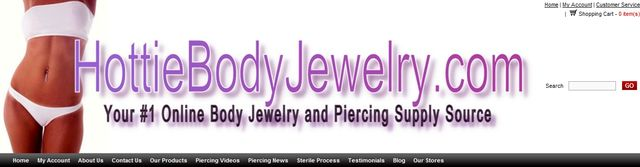 Gems Body Jewellery Wholesale at HottieBodyJewelry.com