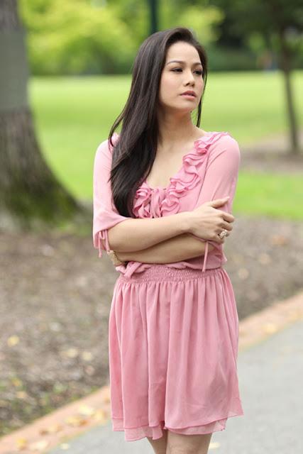 Model Nhật Kim Anh