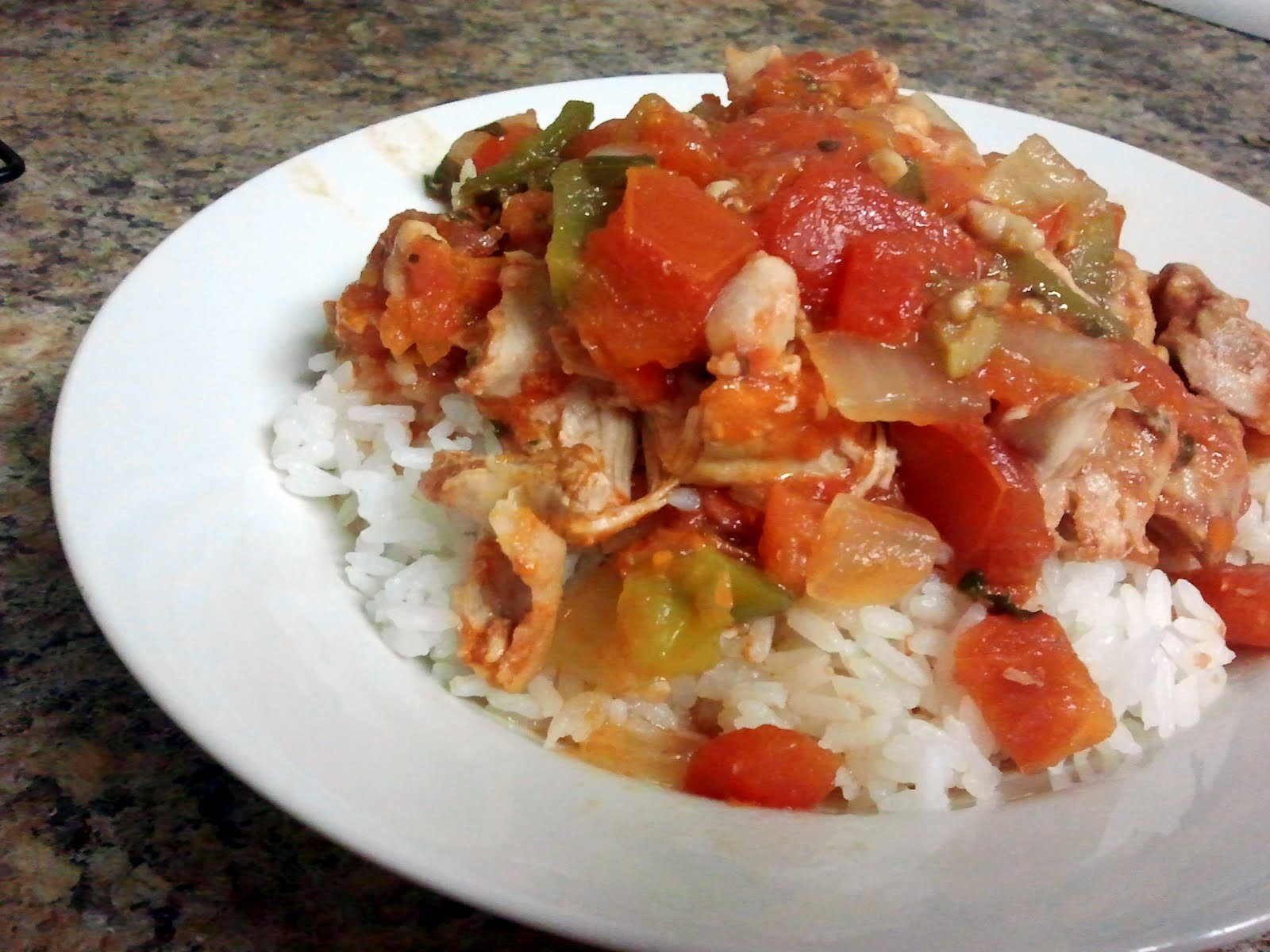 Bread & Wine: Crock Pot Chicken a la Criolla