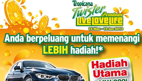 Tropicana Twister 'Live, Love, Life' 2013 Contest