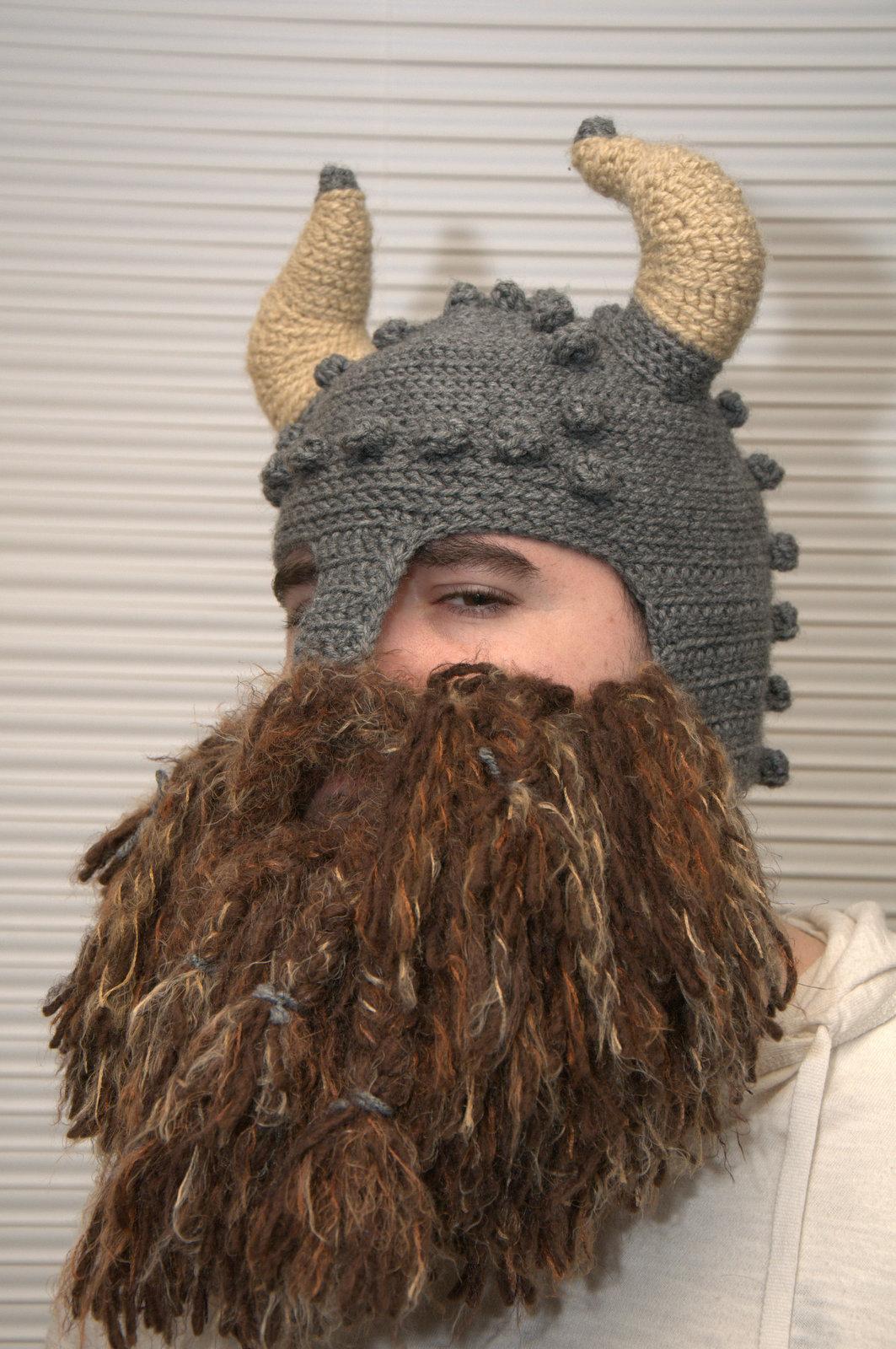 Crochet Dwarf Beard Hat Pattern : A Fabric Fixation: Dwarf Helmet Dos