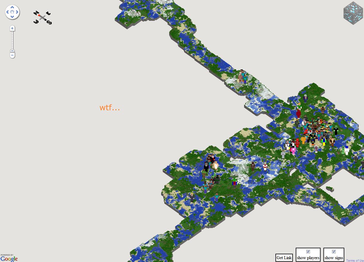 sfxworks minecraft server World Map