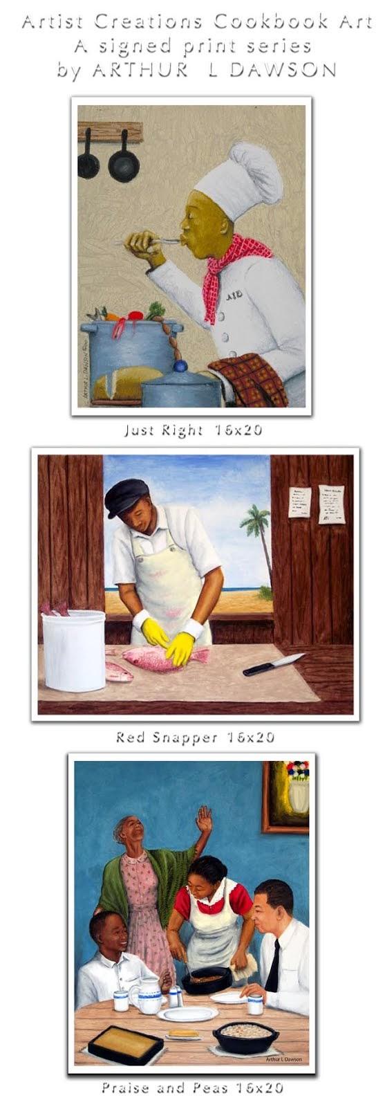 Cookbook Giclee Prints