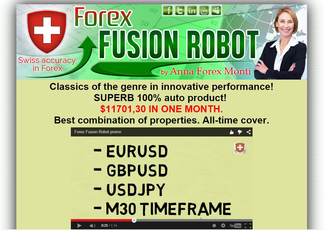 Forex robot trader ea