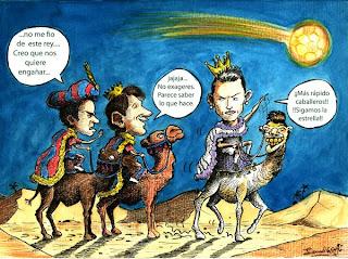 Un 6 de Enero, día de Reyes en el fútbol mundial…