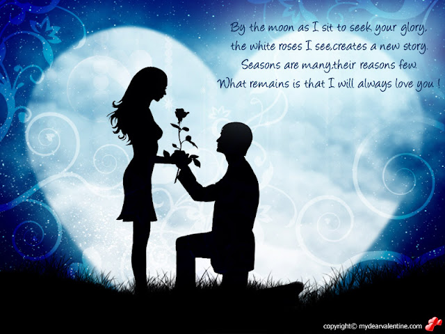 love for girls boy purposing girl quotation wallpaper