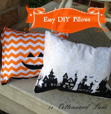 easy diy no-sew pillows from towels