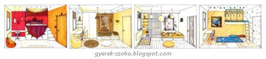 GYEREKSZOBA TERVEZŐ, LAKBERENDEZŐ - Gere Krisztina - Dekorációs falfestő: Romantikus dekoráció ...