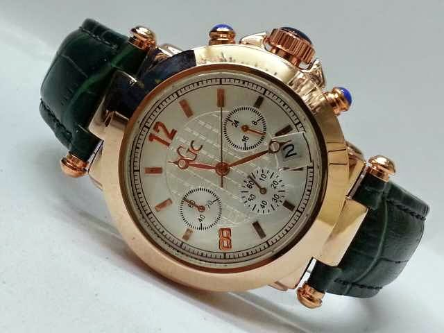 Guess GC Triple Chrono hijau
