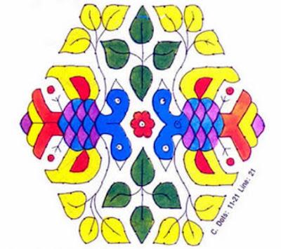 best rangoli designs for sankranti festival 2012 nechcheli
