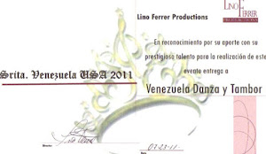 SRITA, VENEZUELA USA 2011