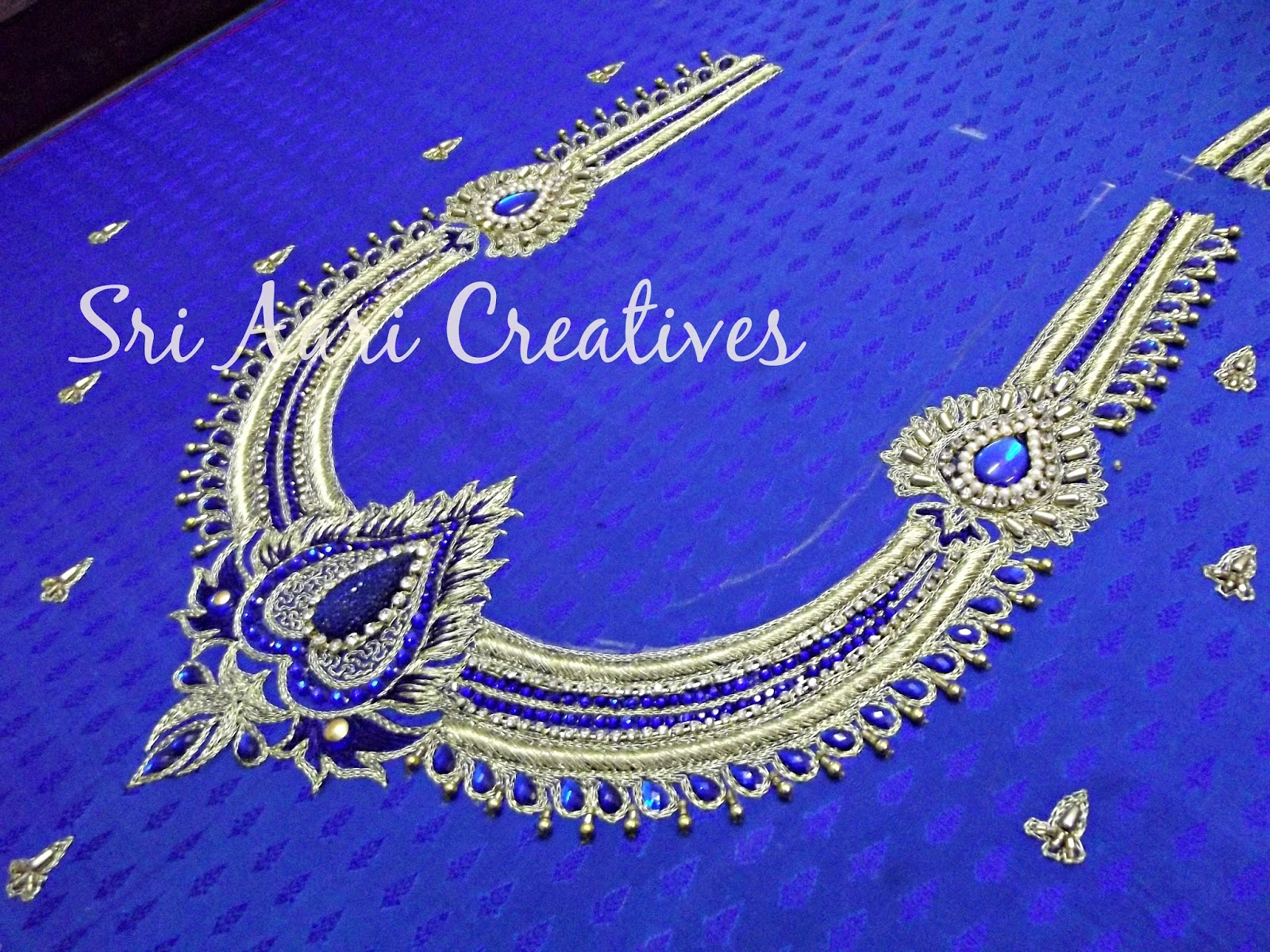 Aari Work Blouse Simple Designs