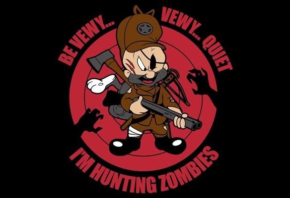 Los conejos pase, pero los zombies a mi ni tocarme