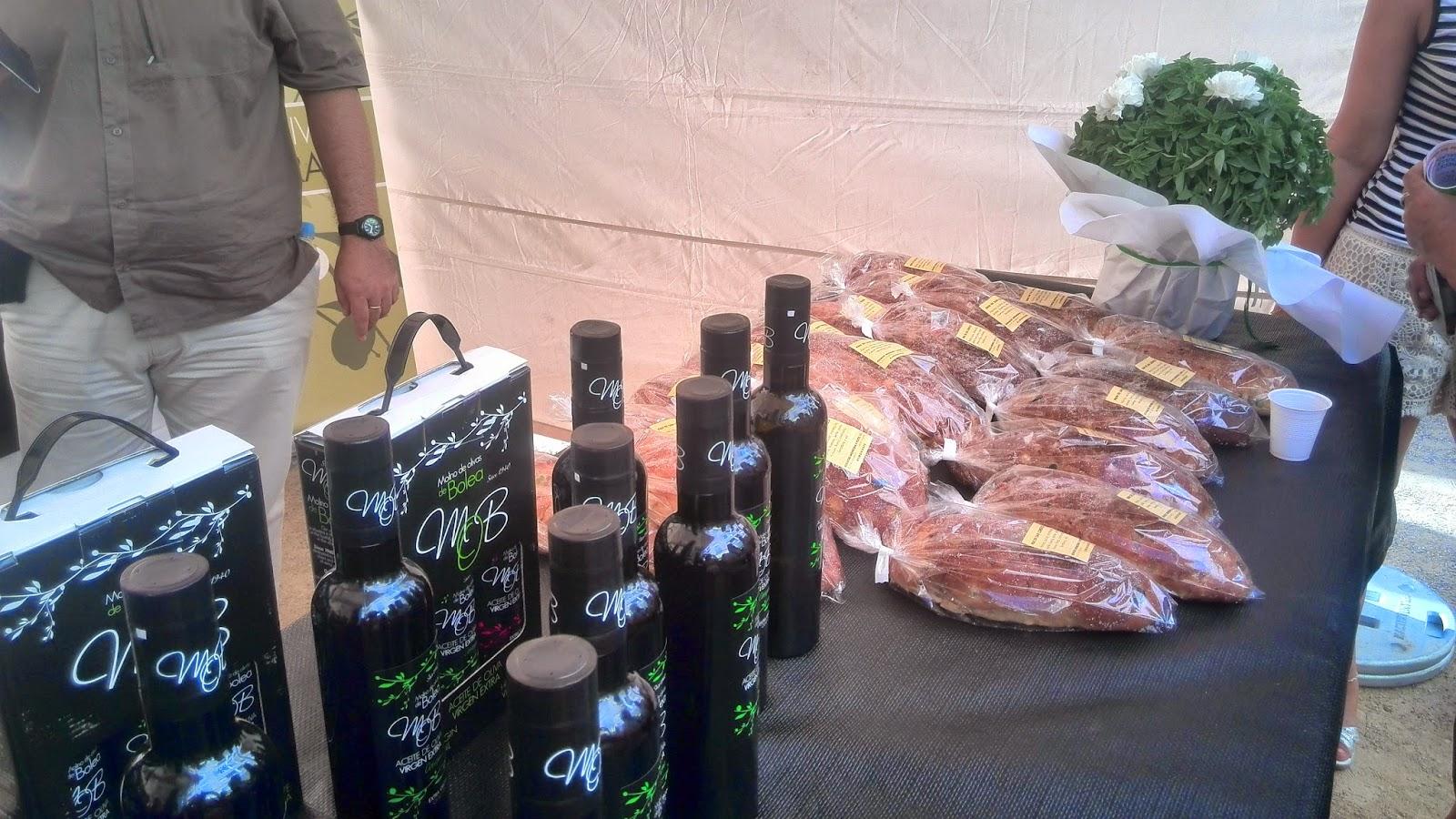 aceite virgen extra y pan de san lorenzo