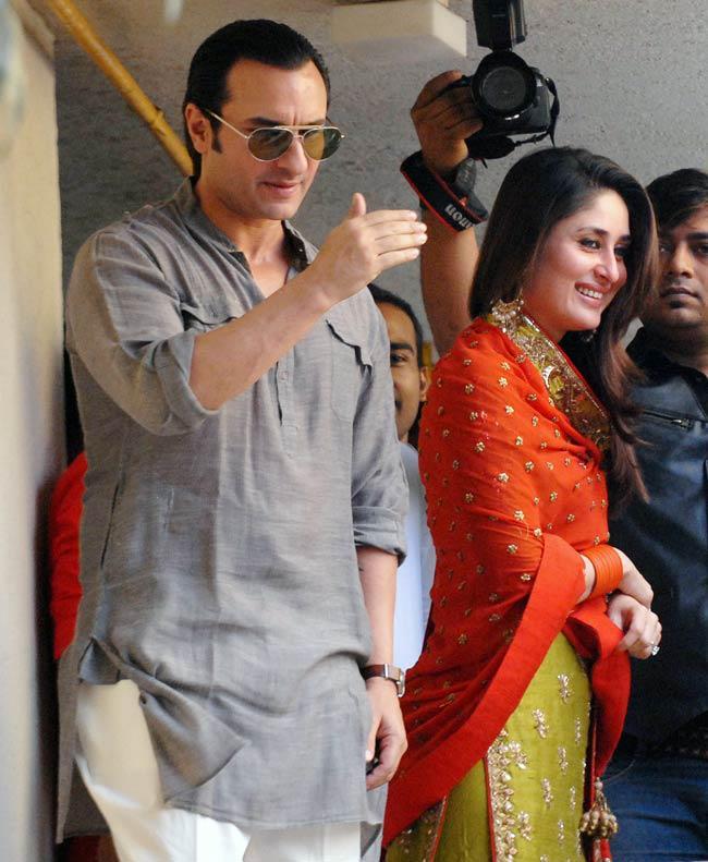 saif ali khan and kareena kapoor wedding pictures latest
