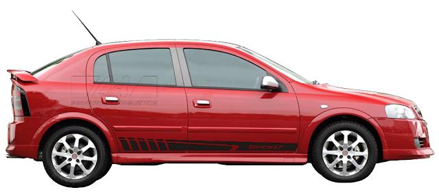 Kit adesivo Sport listra lançamento X11Auto e Laura adesivos 2015 2016 peças e acessórios