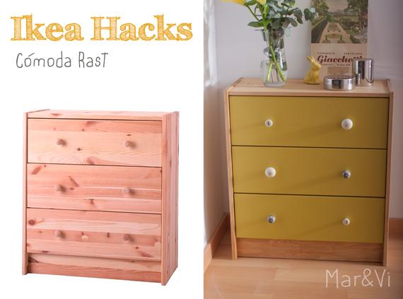 Ikea hacks: Cómoda Rast