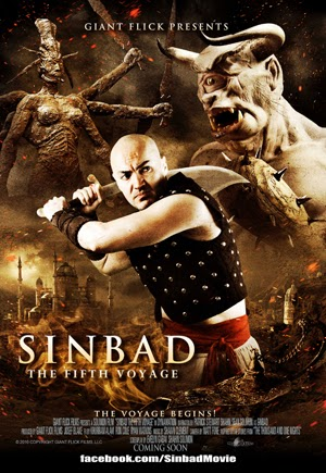 Sinbad: The Fifth Voyage 2014 poster