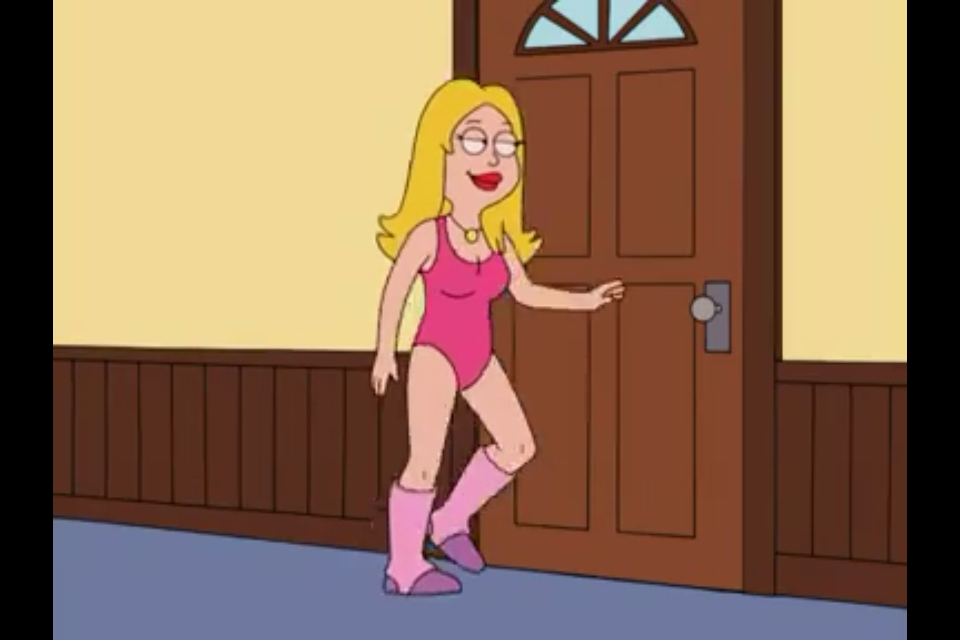 Above Sexy francine american dad cute dress for