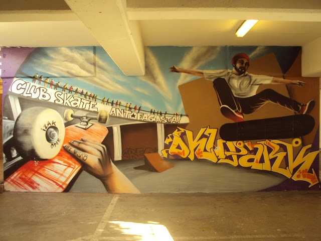 izak one street art graffiti antofagasta chile arte callejero mural antofagasta