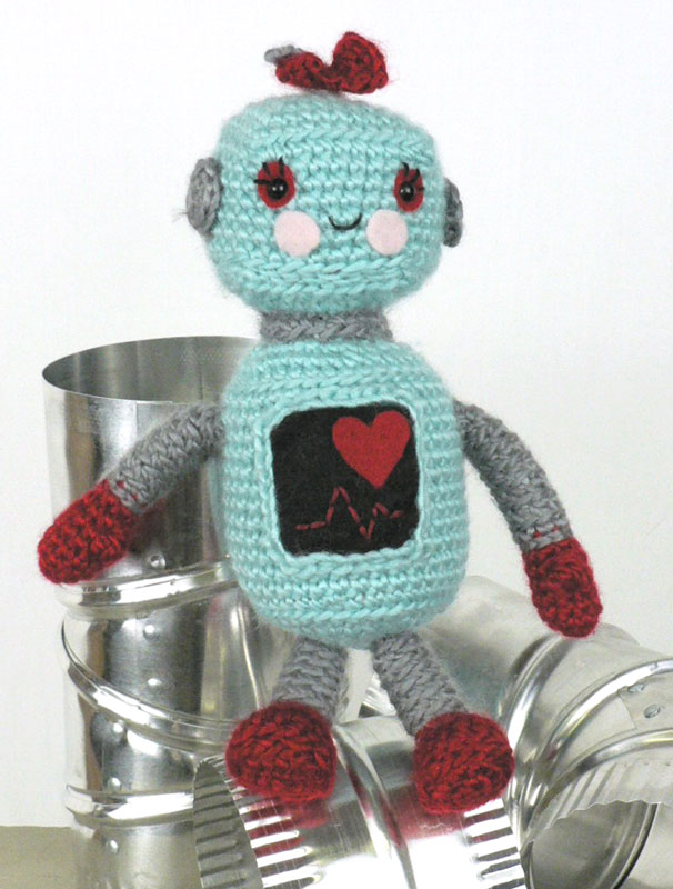 Amigurumi Robot Crochet Patterns : CRAFTYisCOOL: Free Patterns