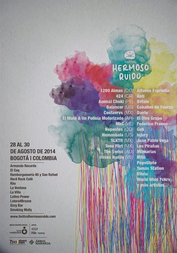 Festival-Hermoso-Ruido-Bogotá-agosto