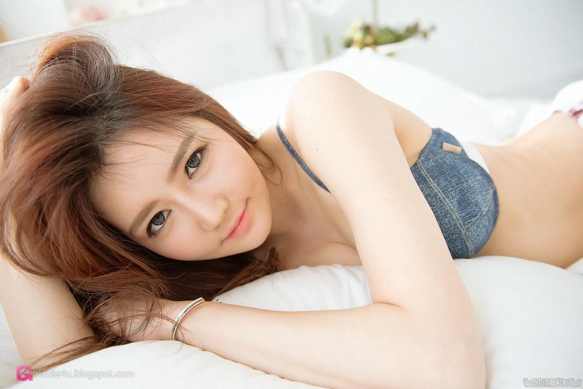 5 Han Ga Eun - Sweet Things In Bed - very cute asian girl-girlcute4u.blogspot.com