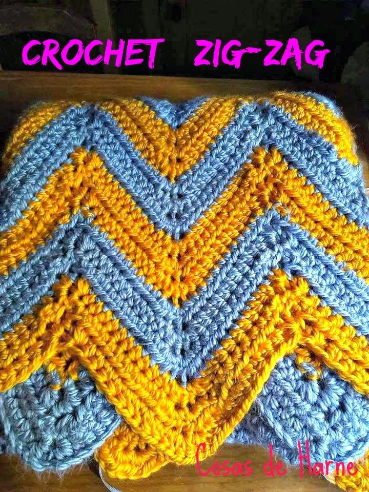 cosas de Harne: patrón de crochet: ZIGZAG